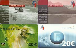 EDA 4 cartes téléphoniques-2