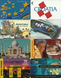 Etrangères lot1 de 8 cartes-2