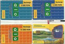 Tchad 4 cartes neuves sous blister-2